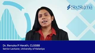 Dr. Renuka P Herath, CLSSBB | Senior Lecturer, University of Kelaniya