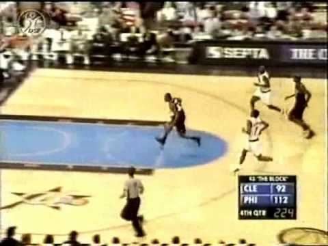 Ricky Davis In Game Between The Legs Dunk