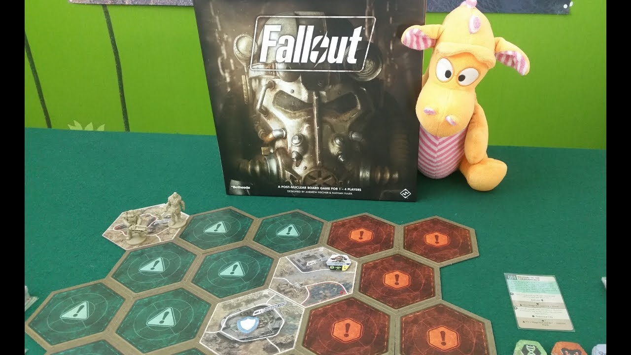 Fallout: The Board Game - Gameplay Runthrough