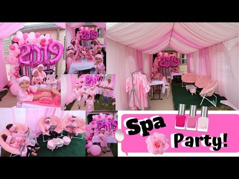 Cutest Graduation Party Ideas Ever | Cotton Candy Mobile Spa