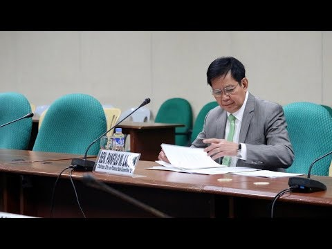 Budget hearing for various agencies [Part 2], Sept. 18, 2017