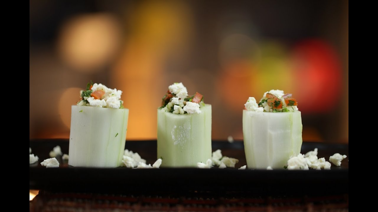 Download Cheese Cucumber Salad   Healthy Cucumber & Feta Salad By Amrita Raichand   Quick & Easy Salad Recipe