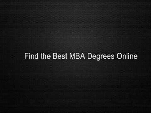 Find the Best MBA Degrees Online