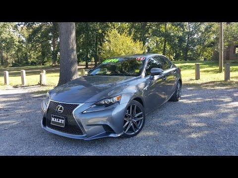 2014 Lexus IS250 F-Sport Walkaround, Start Up, Tour And Review
