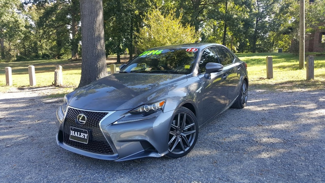 Captivating 2014 Lexus IS250 F Sport Walkaround, Start Up, Tour And Review