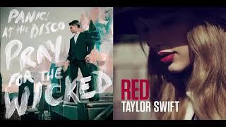 Скачать I Knew You Had High Hopes Taylor Swift Vs Panic At The Disco Mashup