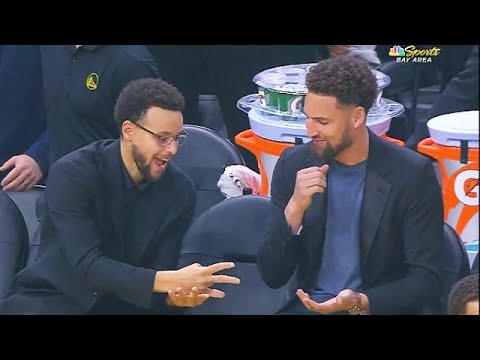Stephen Curry Bets Klay Thompson In Rock Paper Scissors To Decide Who  Honors Andre Iguodala!