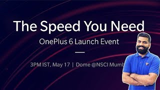 OnePlus 6 India Launch Event