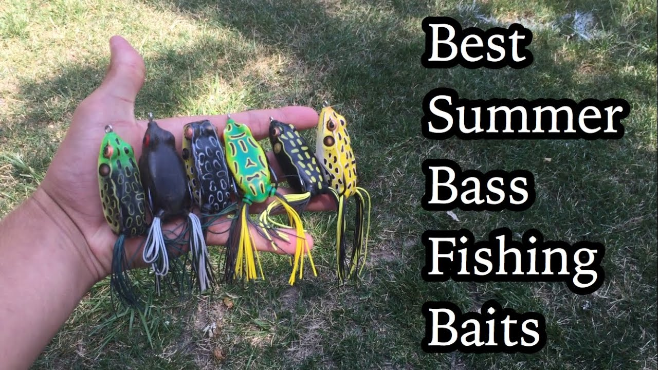 Top 5 summer bass fishing baits youtube for Best lures for summer bass fishing