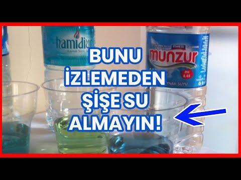 Bunun izlemden Şişe Su almayın! pH Testi (Sponsorlu değildir)