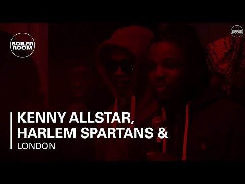 Kenny Allstar, Harlem Spartans & Reeko Squeeze Boiler Room London Live Set