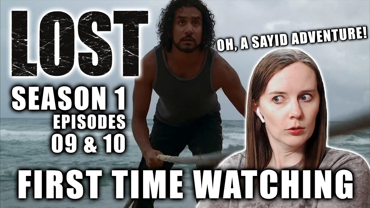 Download FIRST TIME WATCHING   LOST Season 1   Episodes 9 & 10   TV Reaction   A Sayid Adventure!
