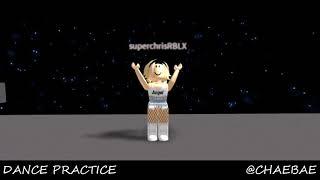 CHRIS LIP & HIP DANCE PRACTICE ROBLOX