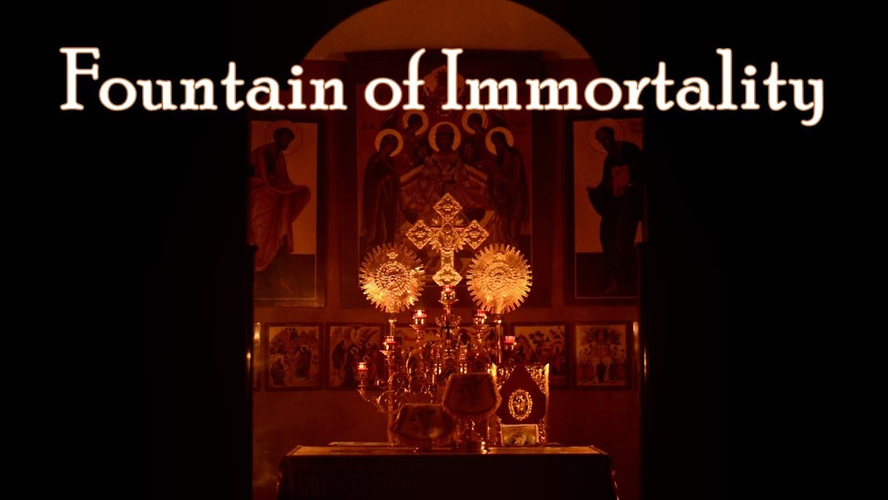 FOUNTAIN OF IMMORTALITY - Meditation on the Orthodox Divine Liturgy