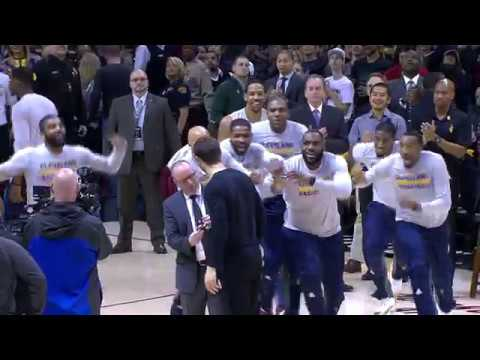 Cavs Mob Delly on His Ring Night | 12.21.16
