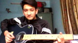 Jo tu mera humdard SONG ON SINGLE STRING ON GUITAR for beginners