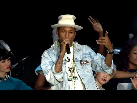 Pharrell - Marilyn Monroe (Summertime Ball 2014)