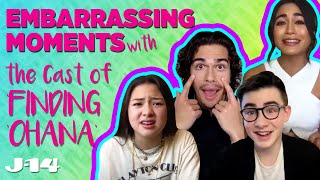 Finding Ohana Netflix Cast Reveals Most Embarrassing Moment on Set