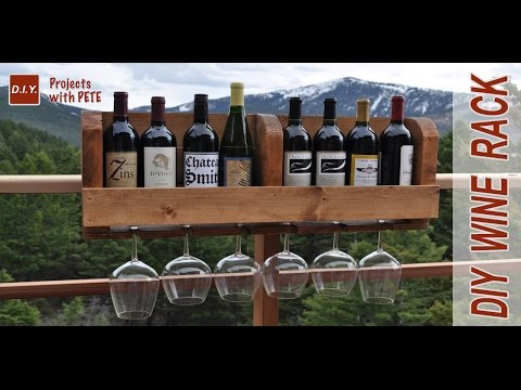 How to Build a Wine Rack | DIY Wine Rack Minwax Wood Stain
