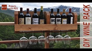 Building A Diy  Wine Rack | Wood Stain & Polyurethane | Minwax