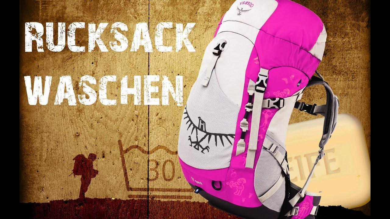 Rucksack waschen Anleitung [HD]