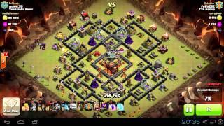 Clash of Clans - Balloon War 2