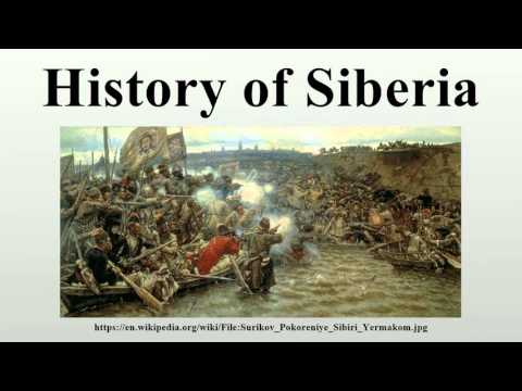 History of Siberia