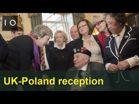 UK-Poland reception at 10 Downing Street