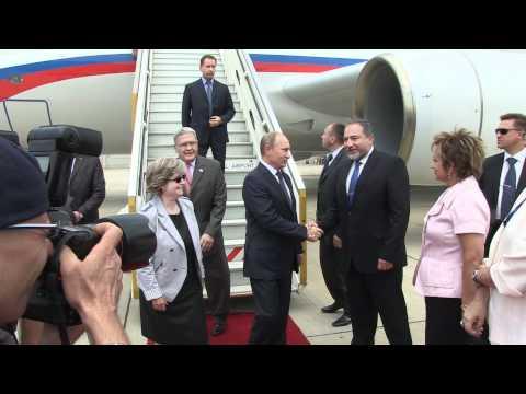 Russian President Putin visits Israel