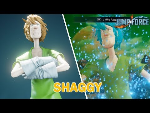 Jump Force - Shaggy Character mod Release!