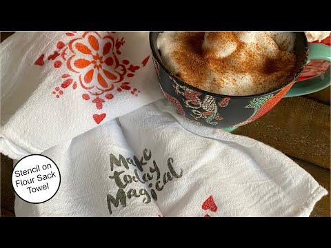how-to-stencil-on-a-flour-sack-towel