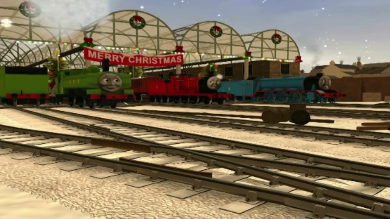 Thomas Trainz Remake - Duck takes Charge at Christmas