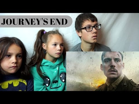 JOURNEY'S END Official Trailer Reaction!!!