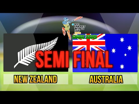 ICC Cricket World Cup 2015 (Gaming Series) - Semi Final New Zealand v Australia