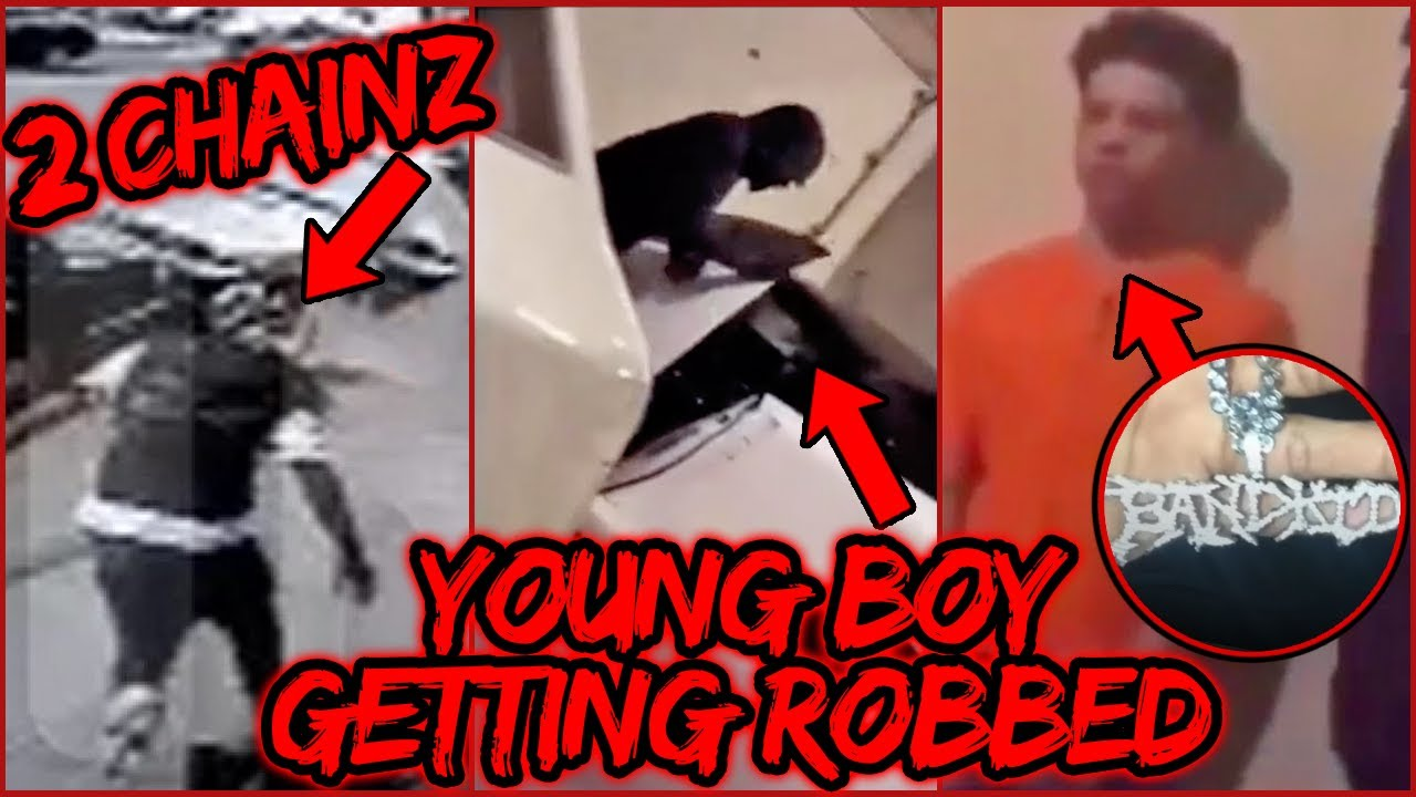 RAPPERS GETTING ROBBED (2 Chainz, Drake, NBA Youngboy, Lil Mosey)