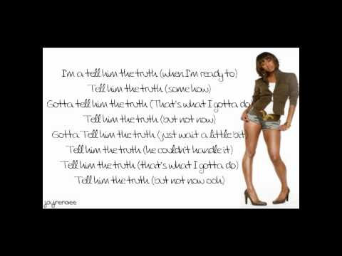 Keri Hilson - Tell Him The Truth Lyrics
