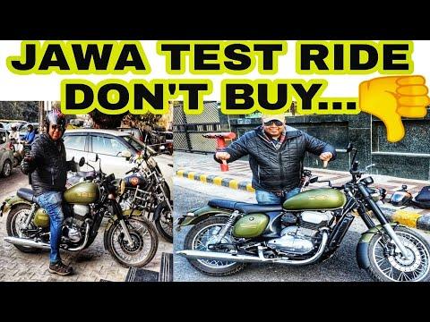 JAWA TEST RIDE REVIEW | JAWA 42 | DON'T BUY JAWA | HEATING ISSUE | JD VLOGS DELHI