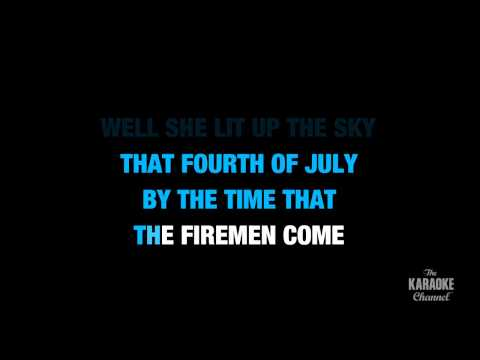 "Independence Day in the Style of ""Martina McBride"" karaoke video with lyrics (no lead vocal)"