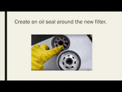 Asynchronous Presentation How to Change Motor Oil