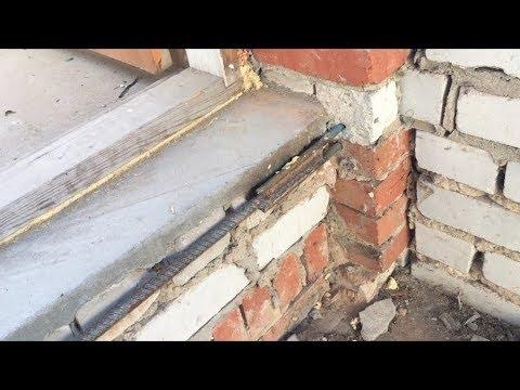 Стяжка дома: как стянуть не несущую кирпичную стену