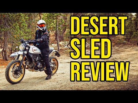 2019 Ducati Scrambler Desert Sled (Owner Review)