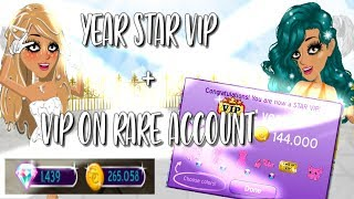 Year Star Vip + Vip On Rare !! // msp