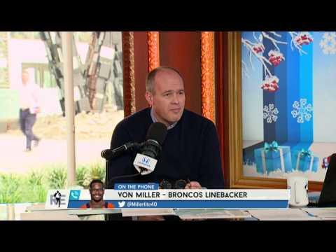 Broncos Super Bowl MVP Von Miller on Getting Fined for Farting - 12/13/16
