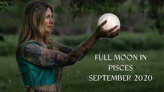 September 2020 Card Reading + Full Moon in Pisces
