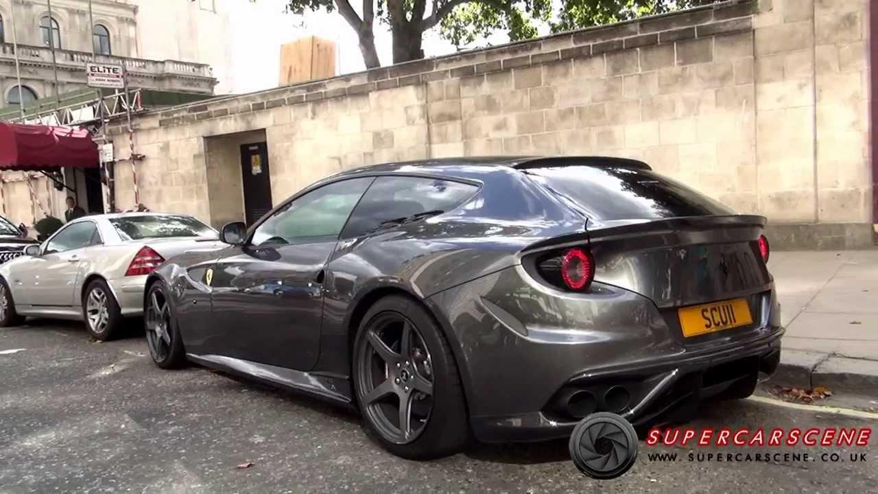F1 Sound Novitec Rosso Ferrari Ff Full Throttle Youtube