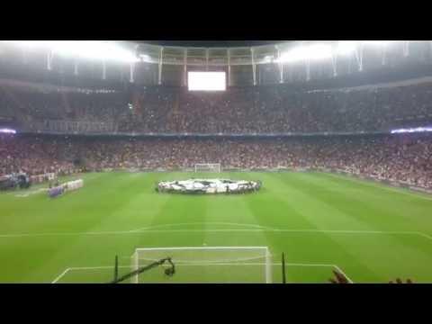 Beşiktaş Vodafone Park Şampiyonlar Ligi Müziği