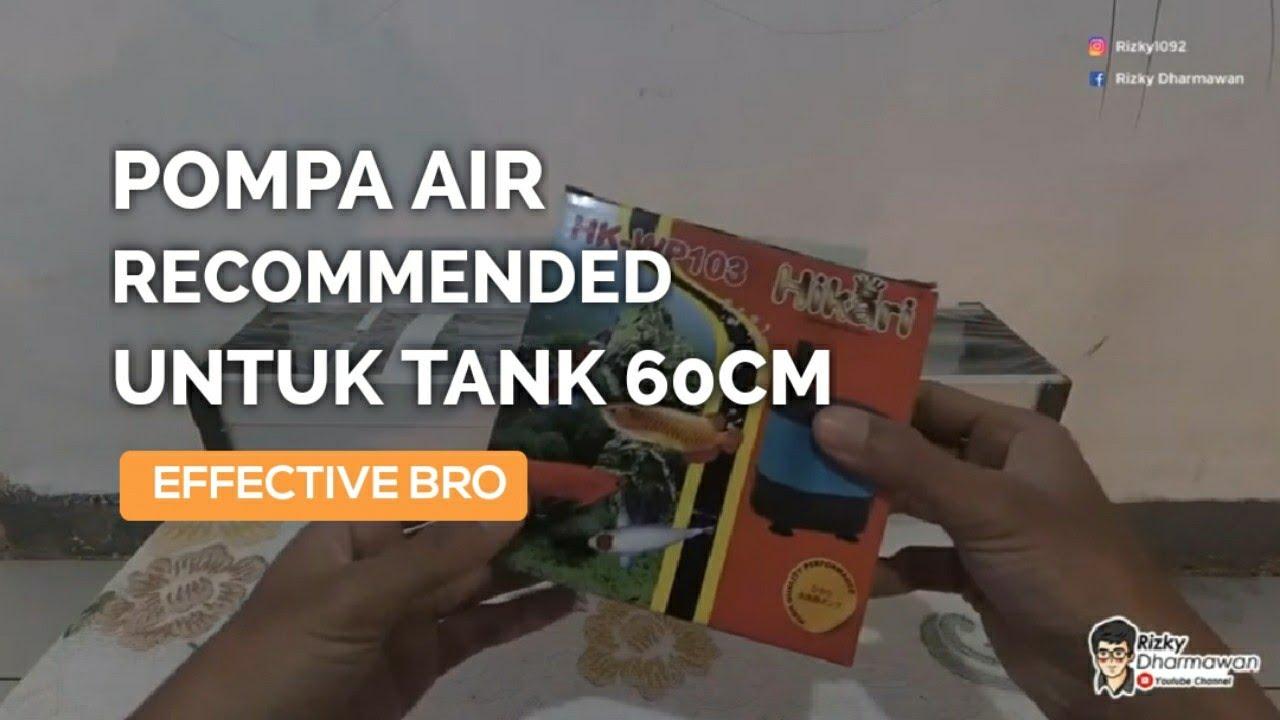 Unboxing pompa filter aquarium hikari HK WP103 dan upgrade ...