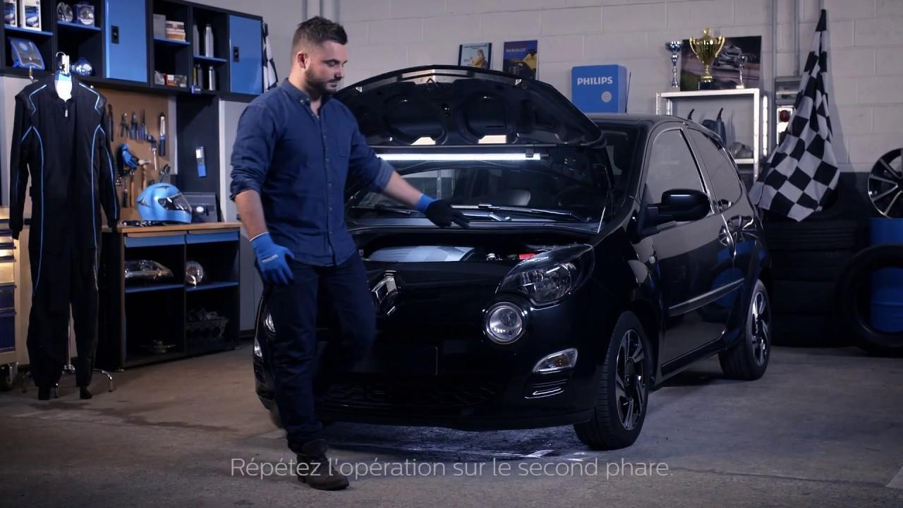 De Lampes Renault Votre Philips Remplacer Iii Les Twingo Comment Tuto yvmON08nw