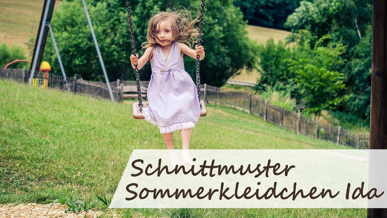Kinder Sommerkleid Ida - Schnittmuster für jeden Anlass | Courleys ...