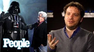 Rogue One: Director Gareth Edwards On Working With Darth Vader & George Lucas   People NOW   People